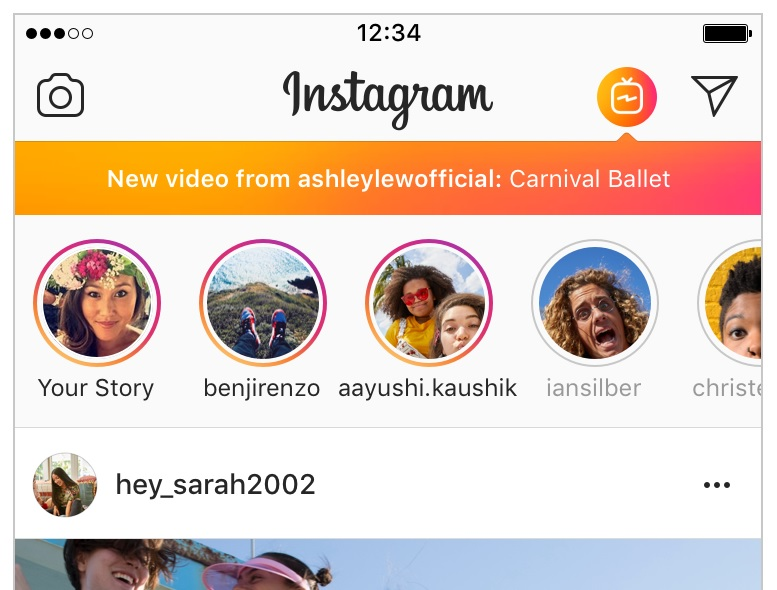 Instagram yazindua IGTV