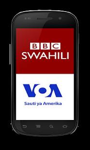 Sikiliza Habari za Kiswahili kwenye Simu yako ya Android Muda Wowote