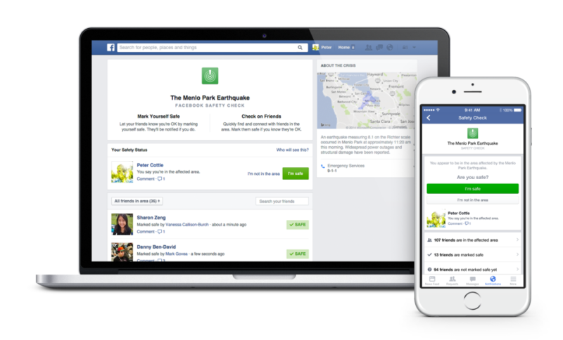 Facebook  Waja Na Safety Check!