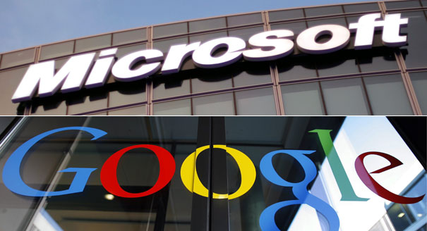 google na microsoft
