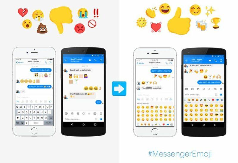 messenger-yaleta-emoji-mpya-mbalimbali