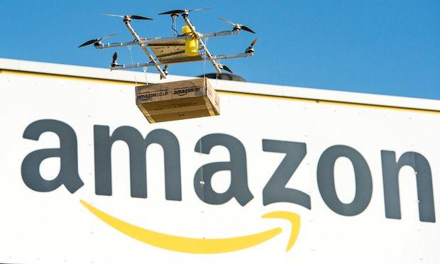 Drones za Amazon zinazotumika kusambaza vitu kwa wateja