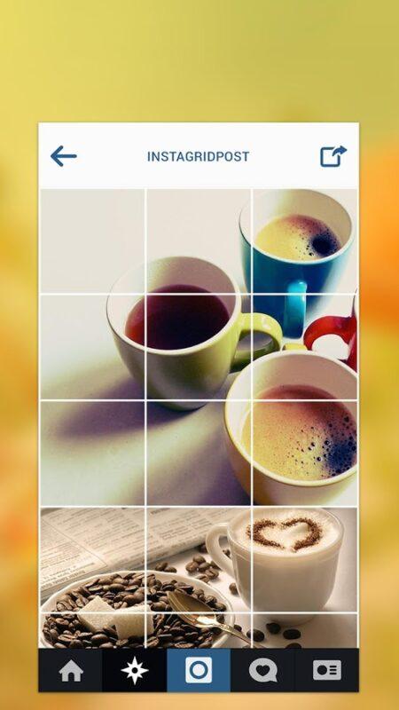 Post Picha Moja Instagram Ikiwa Imegawanyika Katika Vipande Tisa (9)! #Android #iOs