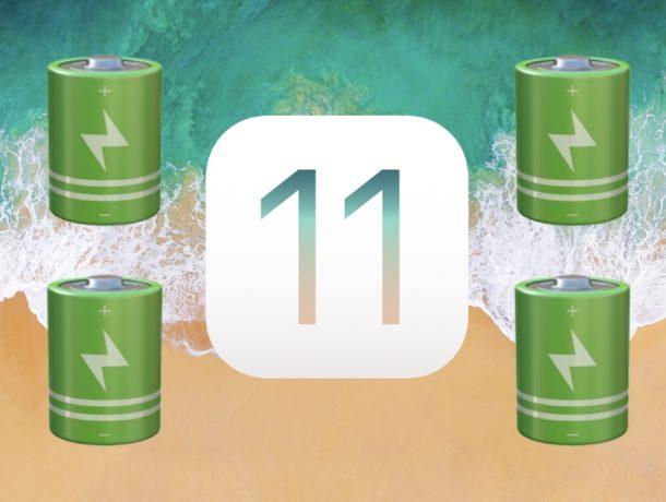 Jinsi ya kuzuia iOS 11 kumaliza chaji ya simu yako ndani muda mchache