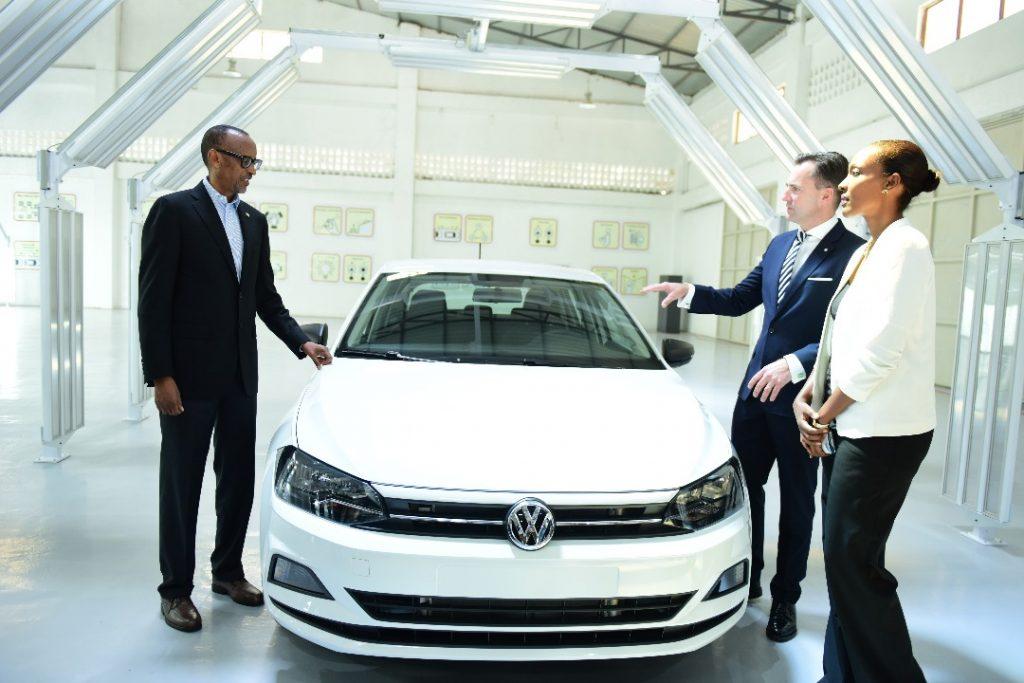 Rais Kagame azindua gari