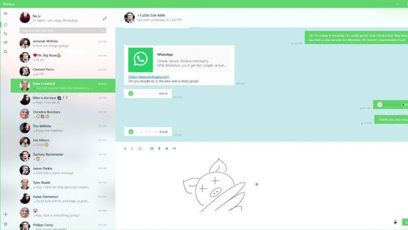 Microsoft na WhatsApp