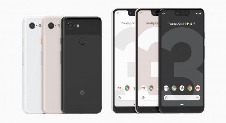 Google Pixel 3 na 3 XL