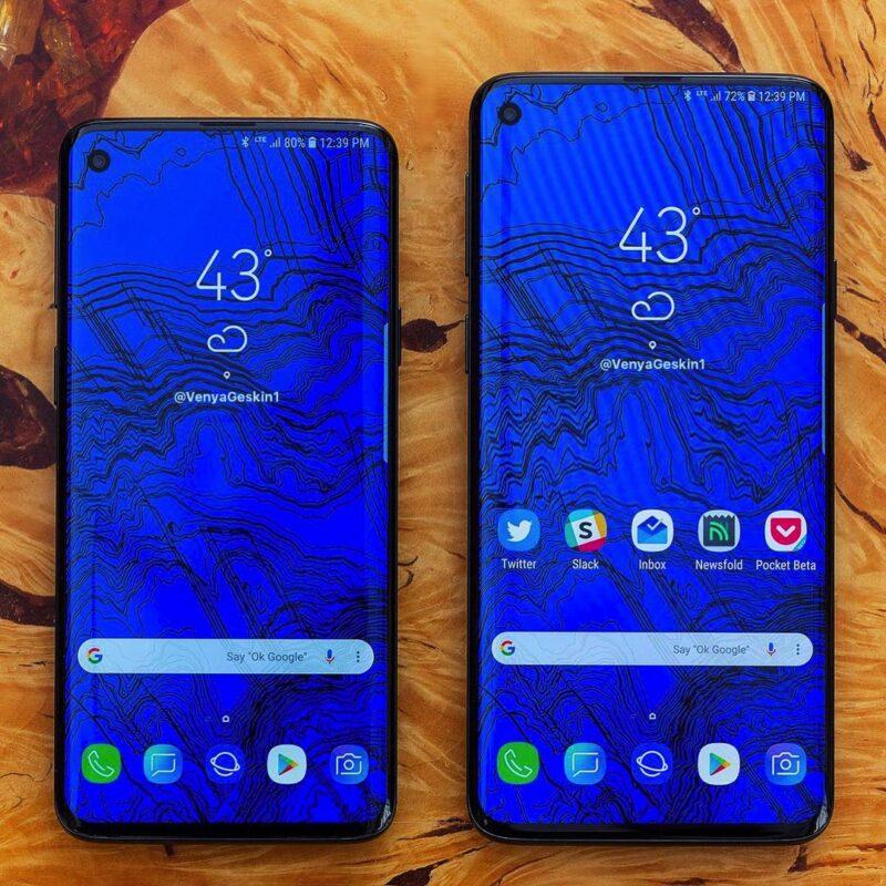 Uwezo wa betri/Kipuri mama – Samsung Galaxy S10 Lite