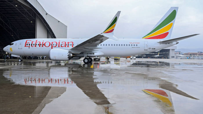ndege ya ethipia boeing 737 max 8