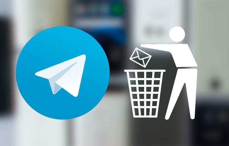 Usalama mkubwa kwenye app ya Telegram: Sasa una uwezo wa kufuta chati nzima
