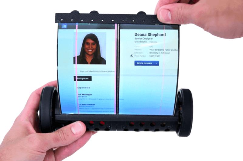 Sony kuja na simu yenye display ya kukunjika