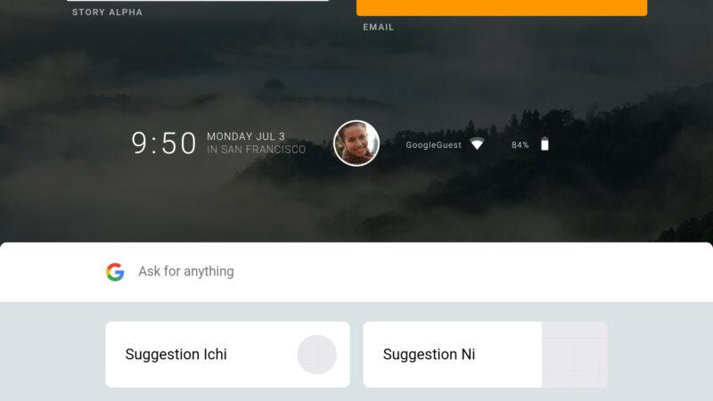 Screenshot Ya OS Fuchsia Kutoka Google