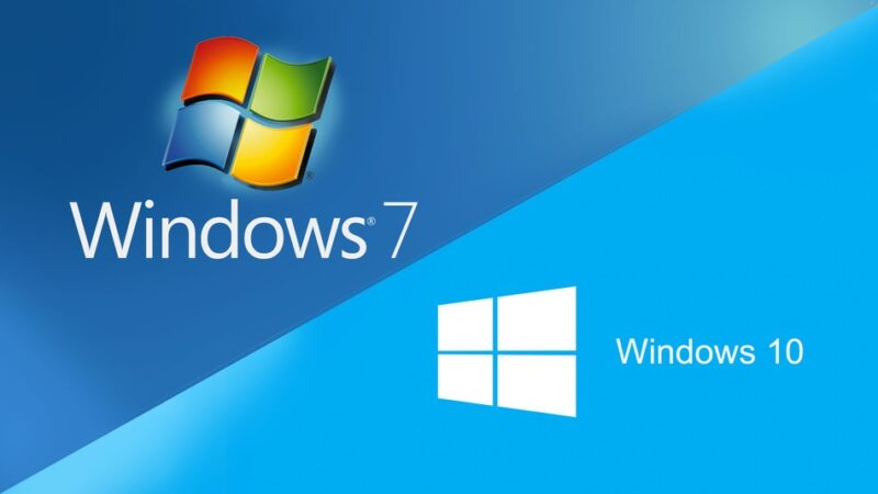 Logo YA Windows !0 Na Windows 7
