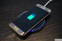Samsung Ikiwa Inachajiwa na Wireless Charger