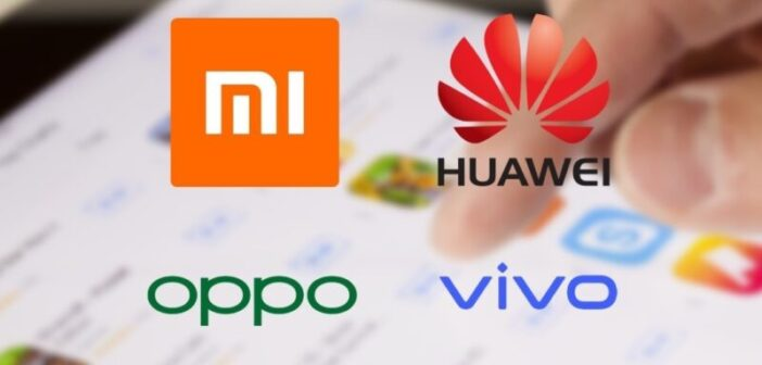 Huawei, Oppo, Vivo, and Xiaomi