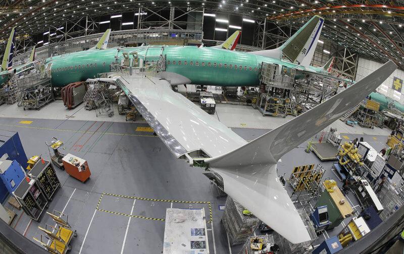 Boeing waendelea na utengenezaji wa ndege za 737 Max