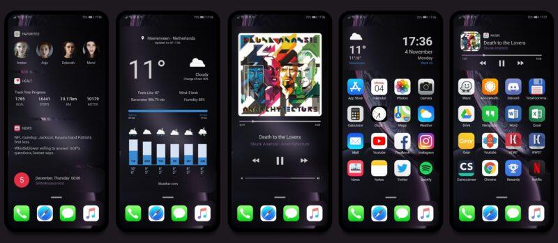 Je, unataka simu yako ya Android iwe na muonekano wa iOS 14?