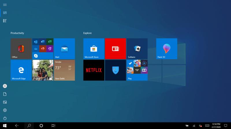 Jinsi ya kuweka/kuondoa mfumo wa tabiti kwenye Windows 10