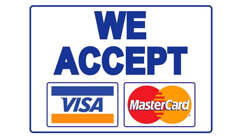 kadi za visa na mastercard zinapatikana