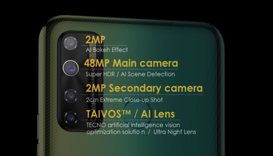 camon 15 camera