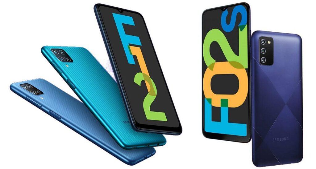 Yafahamu ya muhimu kuhusu Samsung Galaxy F12 na F02s