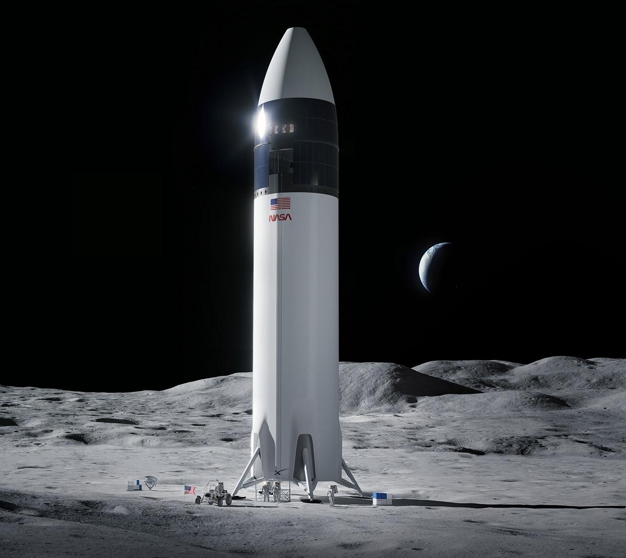 SpaceX kuwashusha wanaanga mwezini baada ya kushinda tenda ya NASA. #Artemis