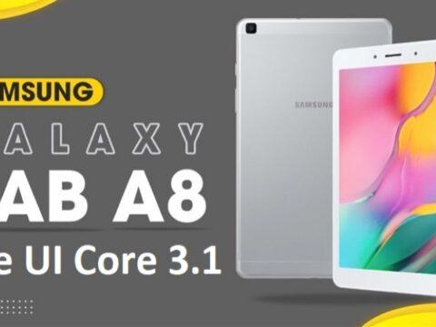 Android 11 yafika kwenye Samsung Galaxy Tab A 8.0 (2019)