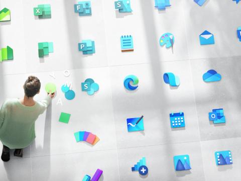 Tuzijue 'Icon' Za Windows Tangu Windows 1 Mpaka 11! (#Picha)