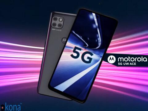 Ingizo jipya la simu janja Motorola One 5G UWB Ace