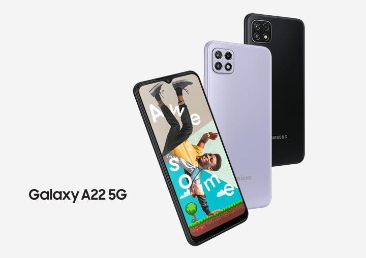 Sifa za simu janja Samsung Galaxy A22 5G