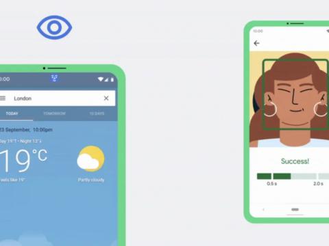 Android Na Sasisho Jipya Katika 'Accessibility' Unaweza Kutumia Simu Yako Kwa Kutumia Uso Wako!!